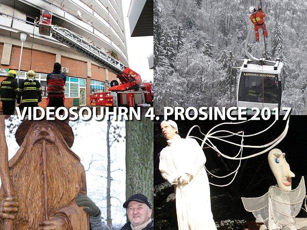 Videosouhrn Deníku – pondělí 4. prosince 2017