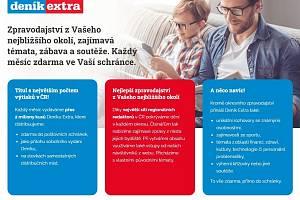 Deník Extra je jedním zklíčových produktů vydavatelství Vltava Labe Media