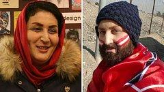 Zahra Khoshnavazová se nebojí v Íránu chodit na fotbal.