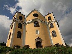 Poutní kostel v Neratově