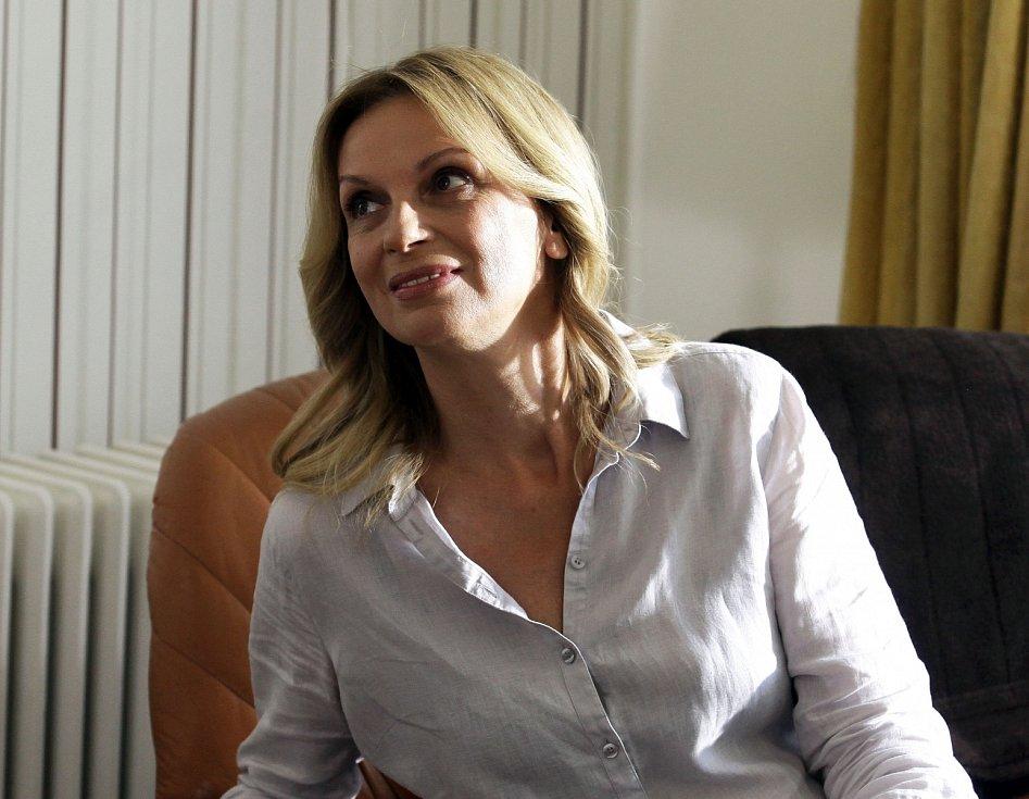 Herečka Ivana Chýlková