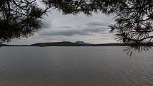 Pohled na Máchovo jezero u Doks