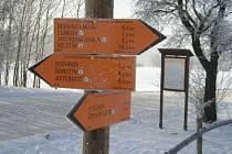 Česká Sibiř nabízí spoustu tratí pro běžkaře.