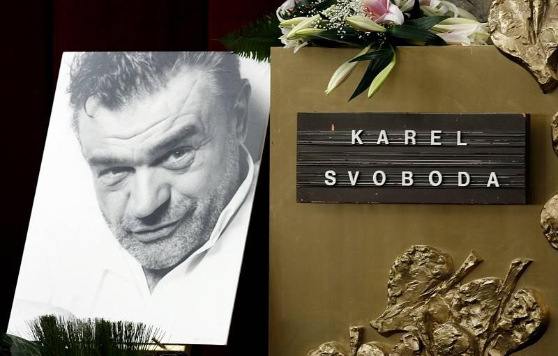 Pohřeb Karla Svobody.
