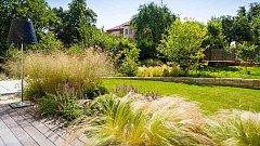 Zahradní návštěva - elipsy