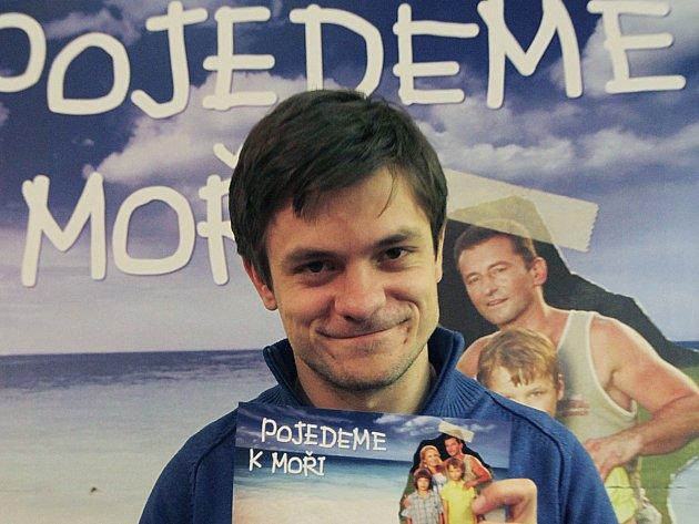 Jiří Mádl představil film Pojedeme k moři.