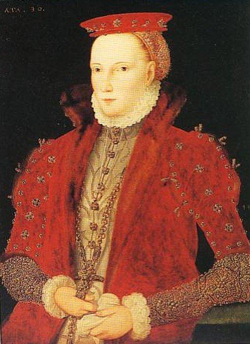 Alžběta I. v roce 1563