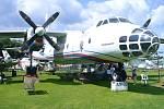 AN-30. Antonov AN-30 v Air Parku ve Zruči je českým unikátem. Jde o letoun, který ze svých služeb vyřadila armáda