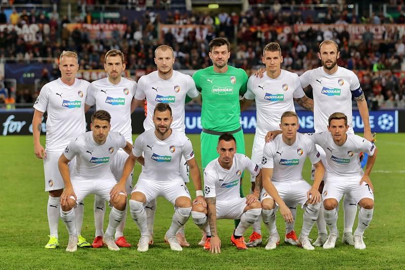 AS Řím – FC Viktoria Plzeň 5:0.