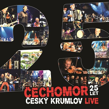 CD/DVD Čechomor 25 - Český Krumlov Live