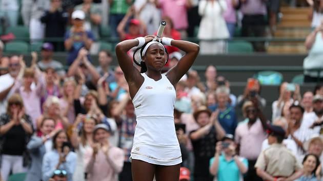 Cori Gauffová se po vítězství nad Venus Wiliamsovou rozplakala