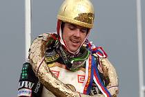 Jason Crump vyhrál Zlatou přilbu už dvakát, v neděli nebude na startu chybět.