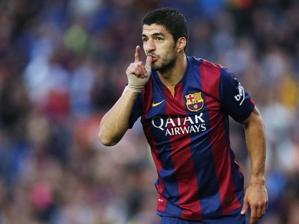 Kanonýr Barcelony Luis Suárez hattrickem sestřelil Córdobu.