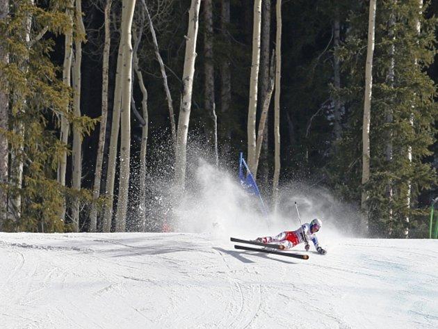 Kateřina Pauláthová ve druhém kole obřího slalomu na MS upadla.