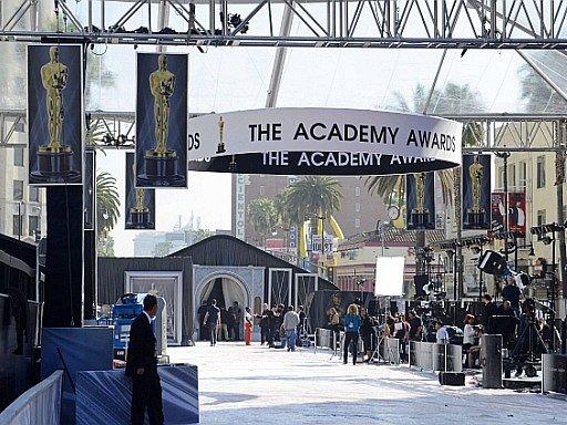 Přípravy na předávání amerických filmových cen