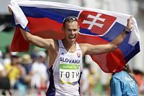 Matej Tóth vyhrál chodecký maraton na olympijských hrách v Riu.