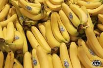 Banány na pultu - Ilustrační foto