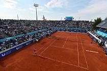 Tenisový turnaj v Bělehradě sledovaly zaplněné tribuny