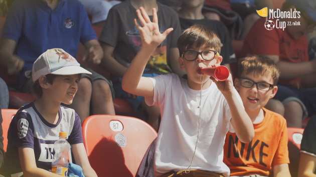 McDonald's Cup a soutěž Srdcem spolu pro týmy s nejlepšími fanoušky