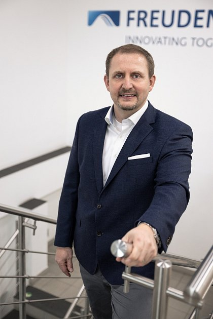 Michal Peklo, ředitel Freudenberg Sealing Technologies vOpatovicích nad Labem