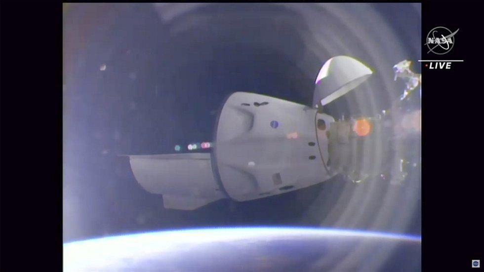 Vesmírná loď Crew Dragon Endeavour společnosti SpaceX