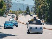 Autonomní vozidlo od společnosti Google.
