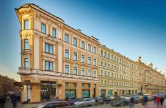 Obchodní centrum Nevsky v Petrohradu