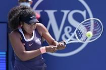 Japonská tenistka Naomi Ósakaová ve čtvrtfinále turnaje v New Yorku