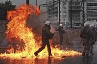 V Aténách protestovaly proti dohodě s Makedonií tisíce lidí