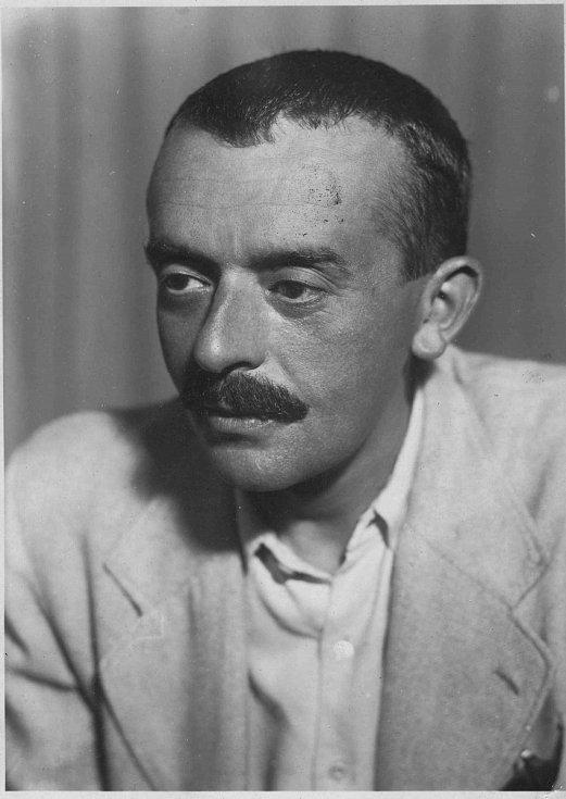 E. F. Burian v roce 1945