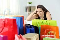 Velké nákupy - ilustrační foto.