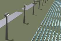 Sluneční elektrárna má stát 371 milionů amerických dolarů a vyrábět elektřinu pro 45 tisíc domácností.