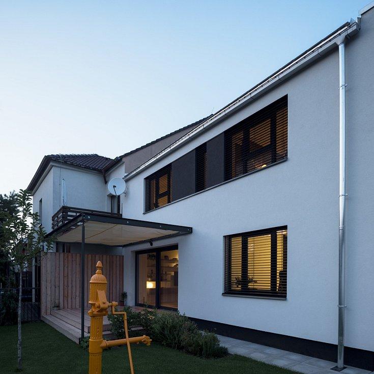 Studio Archport - přeměna domu v pražských Bohnicích