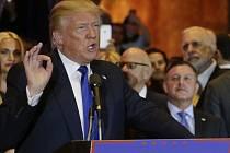 Trump po volbách v New Yorku řekl, že pro Cruze už je matematicky nemožné získat republikánskou nominaci ziskem většiny delegátů.
