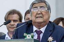 Gubernátor Kemerovské oblasti Aman Tulejev