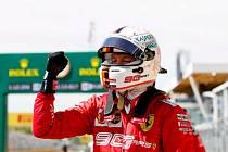 Sebastian Vettel, jezdec formule 1 týmu Ferrari.
