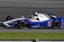Justin Wilson v závodě IndyCar