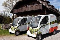 Šumavu si nově můžete projet v zapůjčeném elektromobilu.