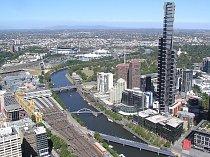 Eureka Tower v Melbourne (Austrálie).