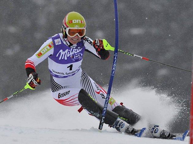 Rakušanka Marlies Schildová vyhrála závod Světového poháru ve slalomu žen ve Špindlerově Mlýně.