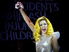Koncert Lady Gaga v O2 areně v roce 2010.