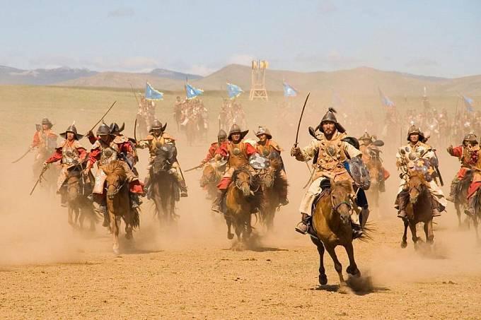 Mongolové rozetli nevěrnici ve dví