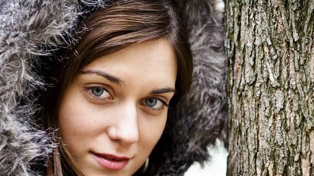 Herečka Judit Bárdos.