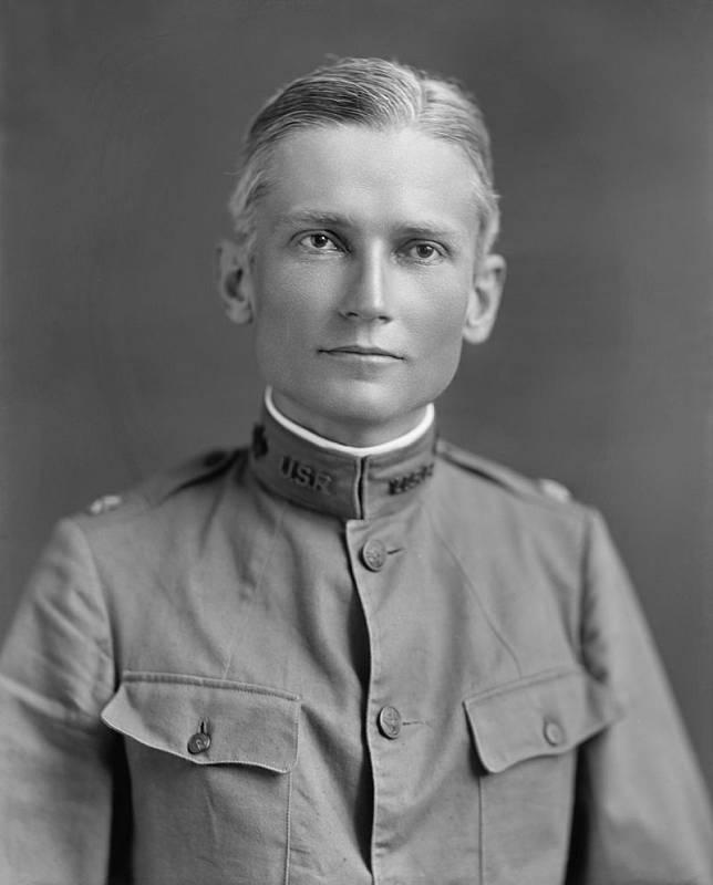Objevitel Machu Picchu Hiram Bingham v době služby v americké armádě.