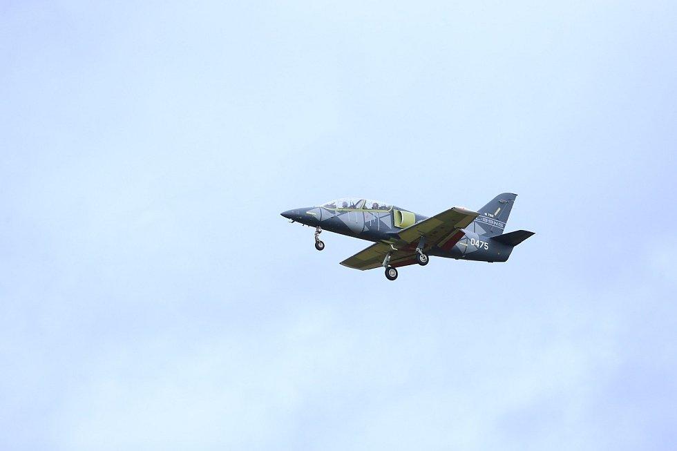 Aero L-39NG při vzletu