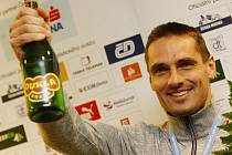 Bronzový vícebojař z halového mistrovství Evropy Roman Šebrle.