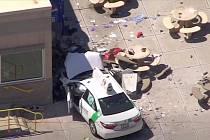 Nehoda na bostonském letišti, osobní vůz najel do lidí