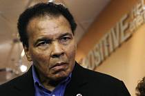 Boxerská legenda Muhammad Ali.