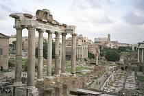 Fórum romanum ( Foro Romano) - bývalé středisko náboženského a občanského života starého Říma.