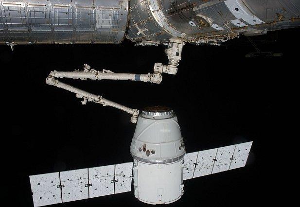 Modul Dragon americké společnosti SpaceX